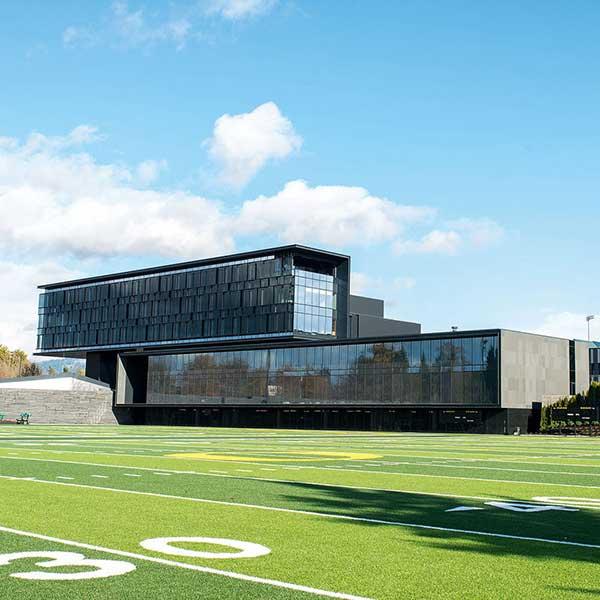 Smart locker system for college football team at University of Oregon